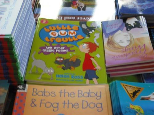 BGT in bookstore
